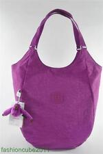 New With Tag Kipling MOLDE Medium Shoulder Tote Bag-  Grape Juice