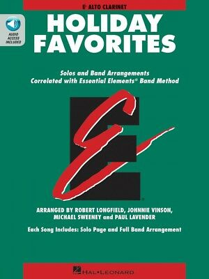 Smart Essential Elements Holiday Favorites Eb Alto Clarinet Book And Audio 000870008 Superior Quality In