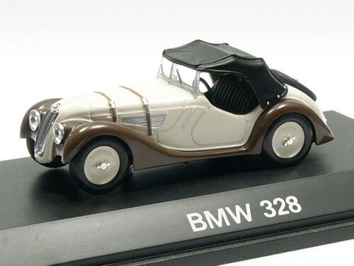 Schuco 1:43 BMW 328 cremeweiß Softtop # 02422