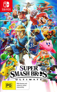 Super Smash Bros. Ultimate Switch Game NEW