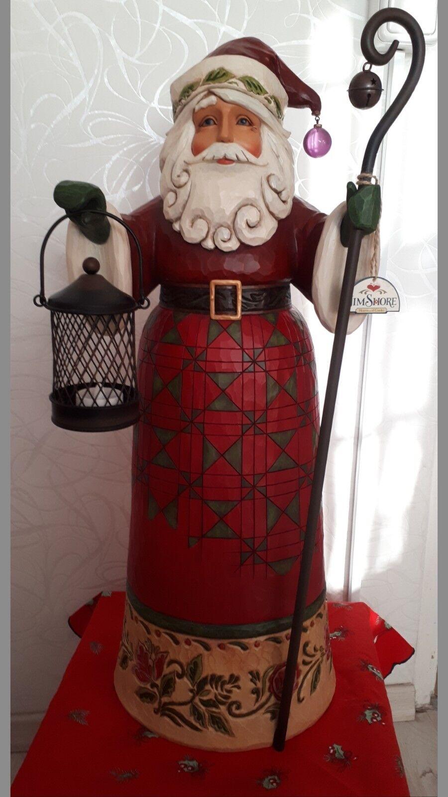 Jim Shore Christmas Santa- Weihnachtsmann Weihnachtsmann Weihnachtsmann 68 cm groß 170e61