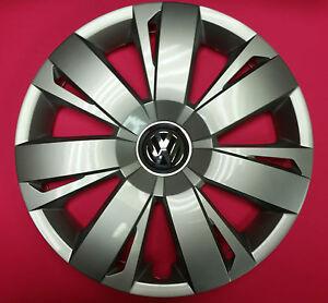"Cherry Hill Volkswagen >> Genuine VW OEM Wheel Cap Hub Cap Jetta 2011-2014 16"" 16 5C0601147A QLV"