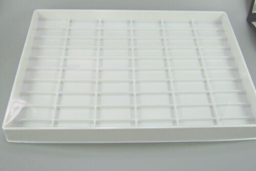 029339 OVP 40x28x3 cm Herpa 1:87,h0 Sammelbox per 59 modelli automobili riquadro bianco