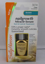 2 X Sally Hansen Nailgrowth Miracle Serum Clear 0.37 Oz. 3074