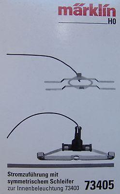 Länge 5 cm NEU S4 Märklin H0 73405 Stromzuführung mit symmetrischem Schleifer