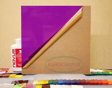 Purple Translucent Acrylic Plexiglass Sheet 18 X 12 X 12 2287