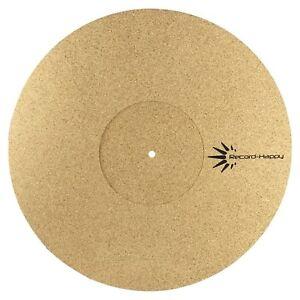 Turntable Slipmat Anti Static Cork Mat 1 8 Quot Thick Vinyl