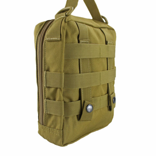 Tactical MOLLE EMT Medical Pouch First Aid Kit Utility Survival Bag Handle Pouch