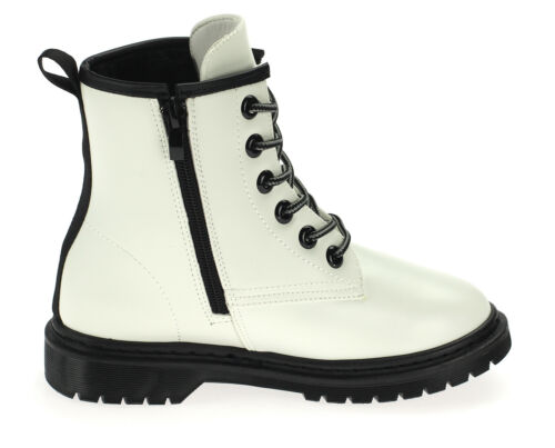 Mädchen Stiefel Boots Stiefeletten Winterschuhe Gefüttert Neu 18909 Weiß 30-35