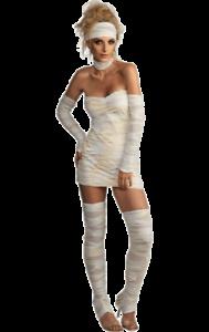 Womens-Egyptian-Mummy-Zombie-Halloween-Fancy-Dress-Costume