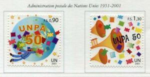 19693) United Nations (Geneve) 2001 MNH New Unpa