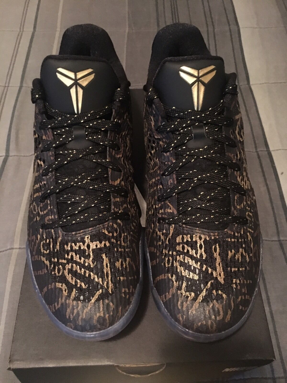 2016 Mamba Day Nike iD Kobe Bryant Final Game 60 Pts Sz 10.5
