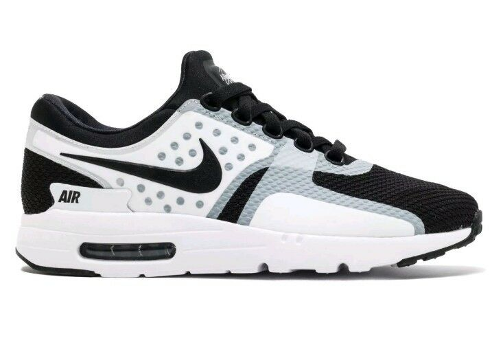 Nike Air Max Zero Essential Black/White Tinker Hatfield 876070 101 Comfortable Comfortable and good-looking