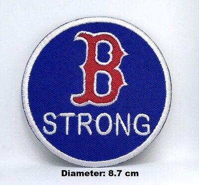 Filme & Dvds Buttons & Pins Mlb B Strong Boston Red Sox Logo Aufbügelbare Gestickte Abzeichen Jacke Rucksack üPpiges Design