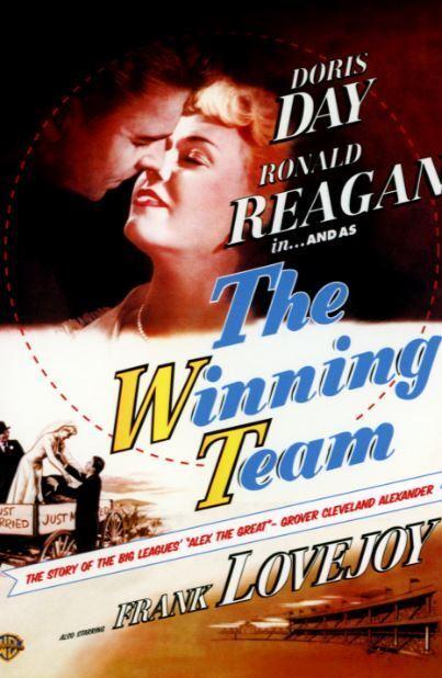 The Winning Team   1952     Doris Day & Ronald Reagan   DVD