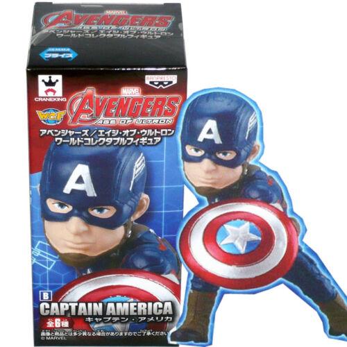 Banpresto WCF mondiale da collezione figure Avengers Age of Ultron-Capitan America