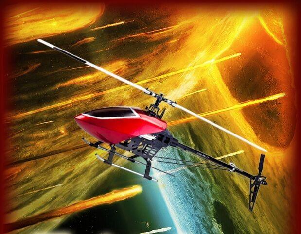 GARTT 550 FBL FlybarlessTorque Tube Version Helicopter Kit Fit Align Trex 550