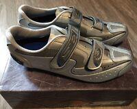 Promo : Chaussures De Route De Marque Sidi Scarpe Spark Alu ( Shoes ) Neuve 47