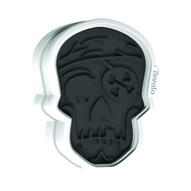 Tovolo Halloween Skull Cookie Cutter & Design Stamps