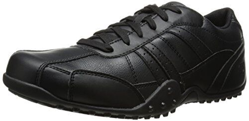 Skechers for Work Mens Elston Relaxed Fit Resistant shoes- Pick SZ color.