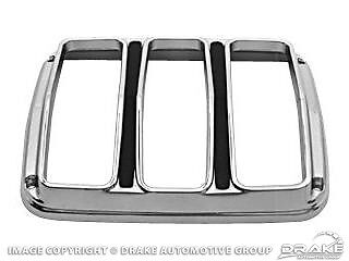 Mustang Tail Light Bezel /& Lens Kit 1965 1966 64 65 66 Coupe Fastback Convertibl