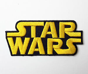STAR-WARS-Classic-Logo-Embroidered-Iron-On-Movie-Patch-The-Force-Awakens