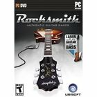 Rocksmith Guitar and Bass (Computer PC Video Game Includes Tone Cable) NEW