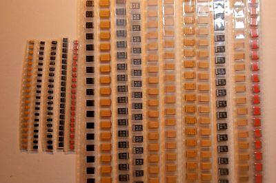 320pcs KIT tantalum SMD 330uf 150uf 100uf 68uf  47uf 33uf 22uf 10uf  KEMET AVX