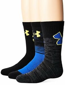 Pick SZ//Color. Under Armour Socks Boys Heatgear Tech Crew Socks Youth L