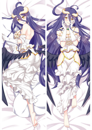 Overlord Albedo Anime Dakimakura Hugging Body Pillowcase Pillow Case Cover 150cm