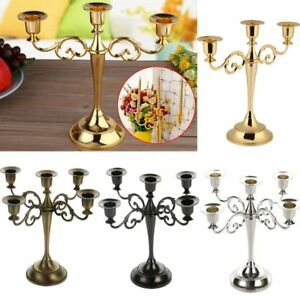 Wedding-Home-Decor-3-5-Arms-Metal-Crafts-Candelabra-Alloy-Candle-Holder-Stand