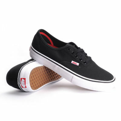 Vans Authentic Pro (Black/White) Men's Skate Shoes | eBay