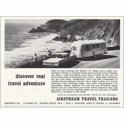 Boats Vintage Print Ad 1972 Airstream