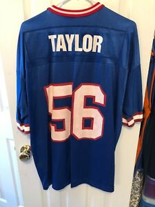 on sale c33e8 f1fb0 Details about Vintage Lawrence Taylor New York Giants Jersey Size 48  Champion Athletic