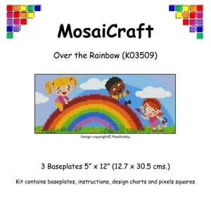 MosaiCraft-Pixel-Craft-Mosaic-Art-Kit-039-Over-the-Rainbow-039-Pixelhobby