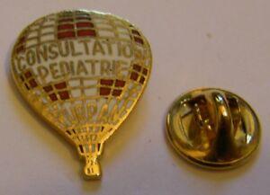 HOT-AIR-BALLOON-CHILDREN-039-S-HOSPITAL-PURPAN-vintage-Pin-Badge