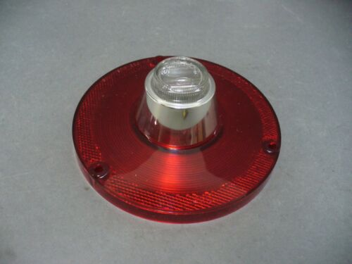 63 Ford Falcon taillight lenses 62 Fairlane tail lamp back up pair Ford licensed