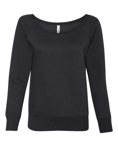 Wideneck Fleece Sweatshirt Bella Slouchy Triblend 7501 Mia Sponge ZwxqB81