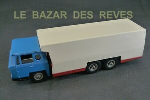 SOLIDO FRANCE. Camion frigo cabine BERNARD. Démontable.