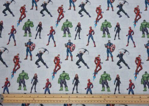 Superhéroes de Marvel Tela Artesanal Batman Superman con licencia DC Vestido De Algodón