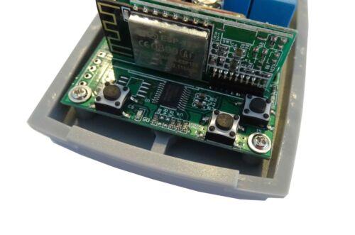 433,92Mhz Rolling Code Funkschalter Taster Garagentor TKStar 2.4Ghz Wifi Wlan