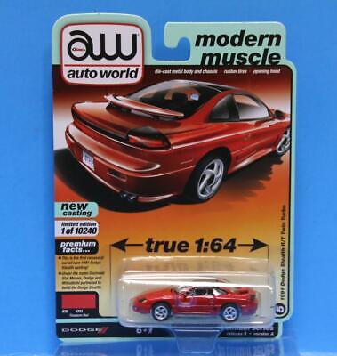 AUTO WORLD 1:64 2020 PREMIUM # 5 R5/A 1991 Dodge Stealth R ...
