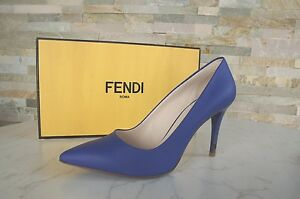 Tacchi Neon Form Scarpe Uvp € Fendi Gr New Alti Pumps 495 Luxury Blue 39 5 wBzXPnfAq