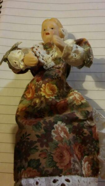 Dolce Figura Vintage Donna Casa Delle Bambole