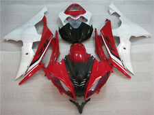 Bodywork Red White Injection ABS Fairing Fit for Yamaha 2008-2015 YZF R6 v20