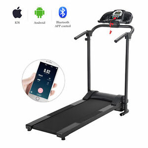 Folding treadmill electric motorized running machine home gym w