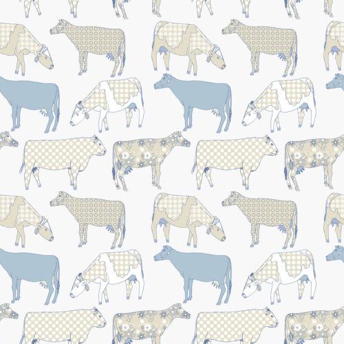 Essener Tapete Kitchen Style 2 KE29929 Küche Küchentapete Vinyl Kühe beige weiß