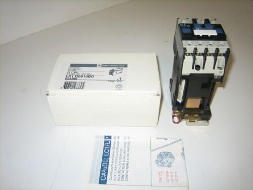 NOS TELEMECANIQUE CONTACTOR LP1D0910BD 4KW-380//415VOLT 5HP-460VOLT
