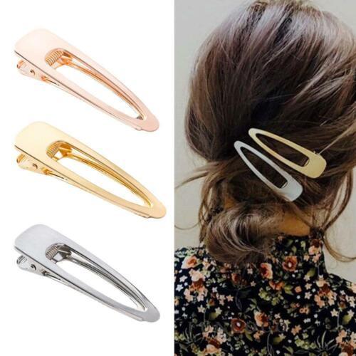 Mode Frauen Entenschnabel Clip Haarspange Haarspange Stick Haarnadel-Haarschmuck