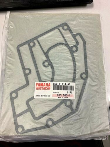 NOS YAMAHA 6K8-41114-A1-00 EXHAUST OUTER COVER GASKET WR500